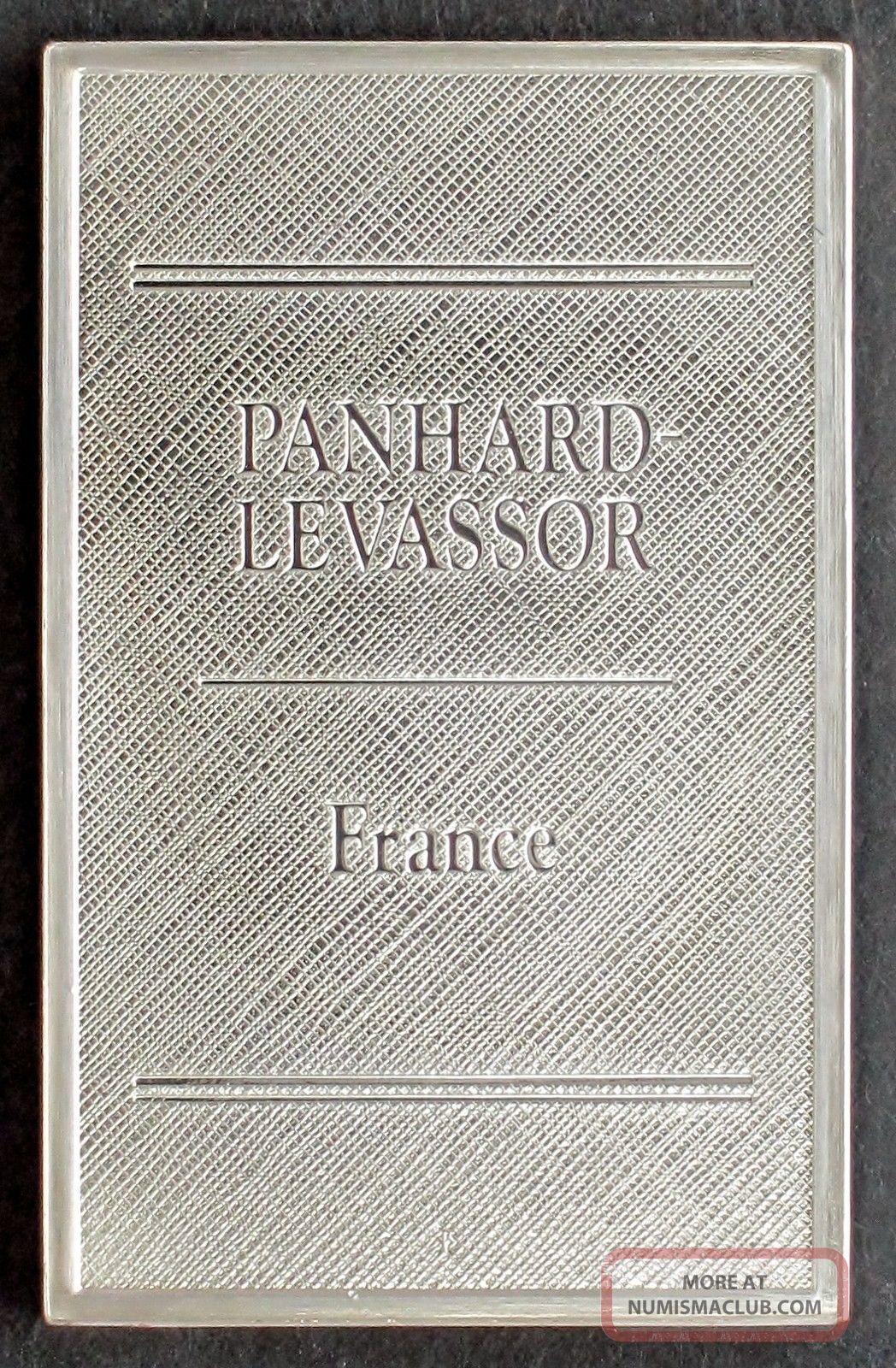 Panhard Levassor France Automobile Emblem 0 76 Oz