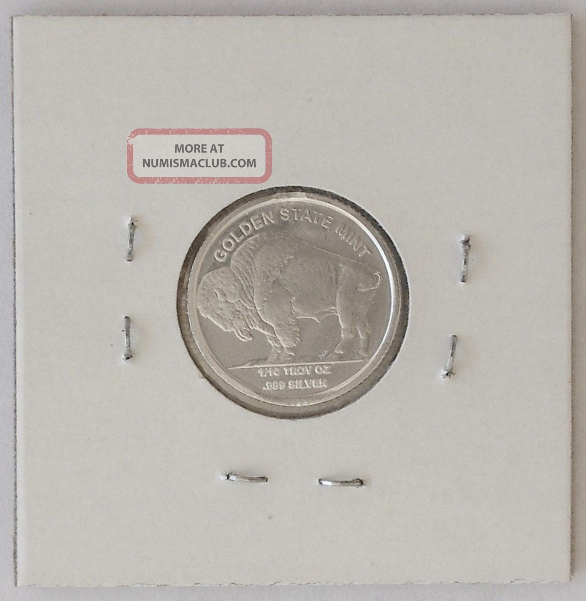 1 10 Ounce Buffalo Indian Silver Round Gift Idea