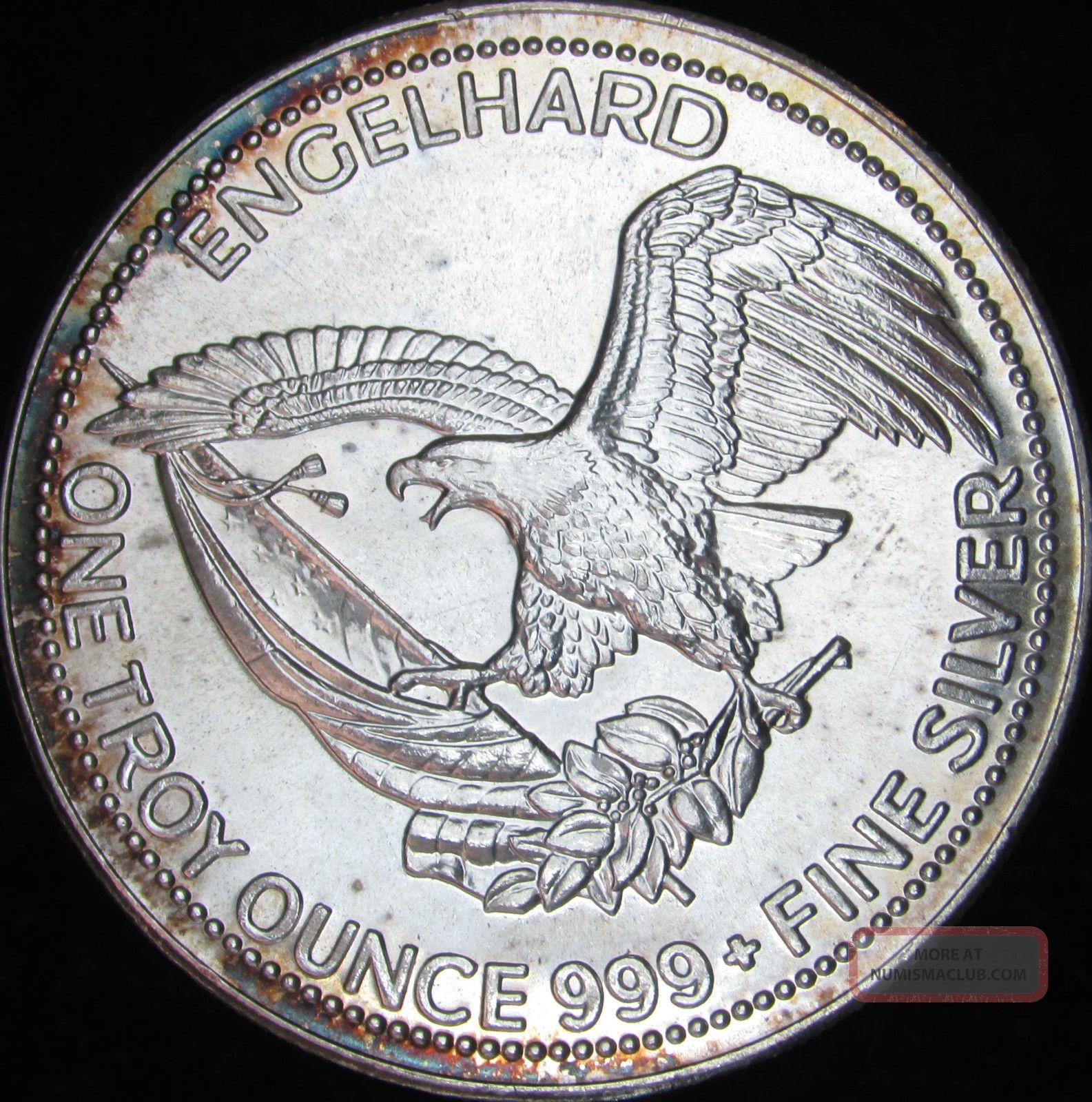 1984 Engelhard 1 Oz Fine Silver The American Prospector