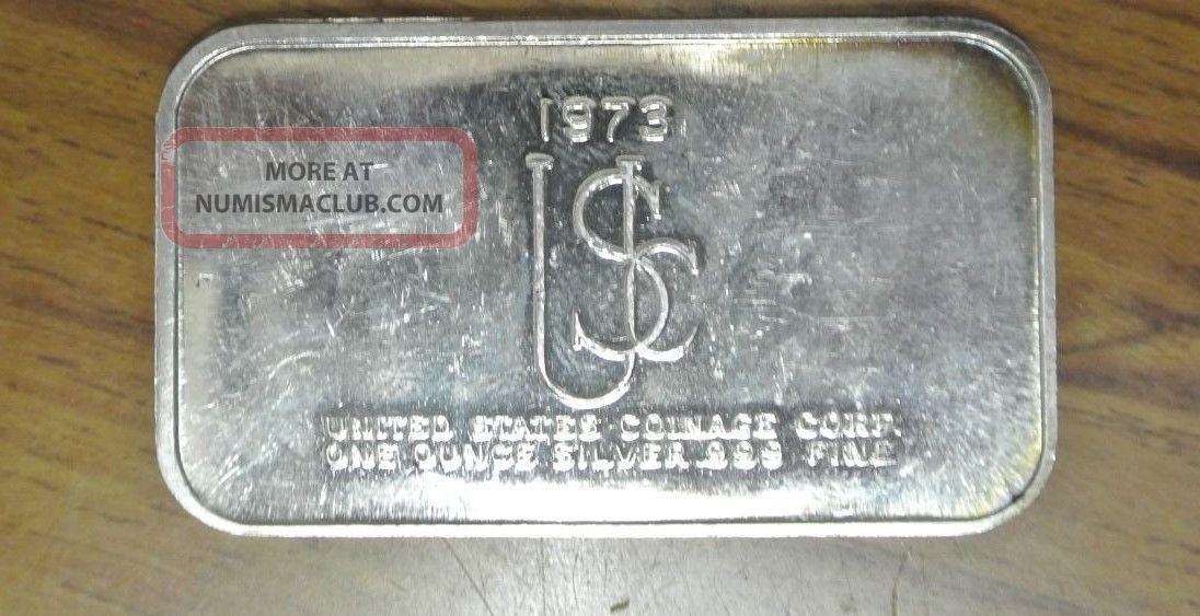 Washington Crossing Delaware U S Coinage Corp 1973 999