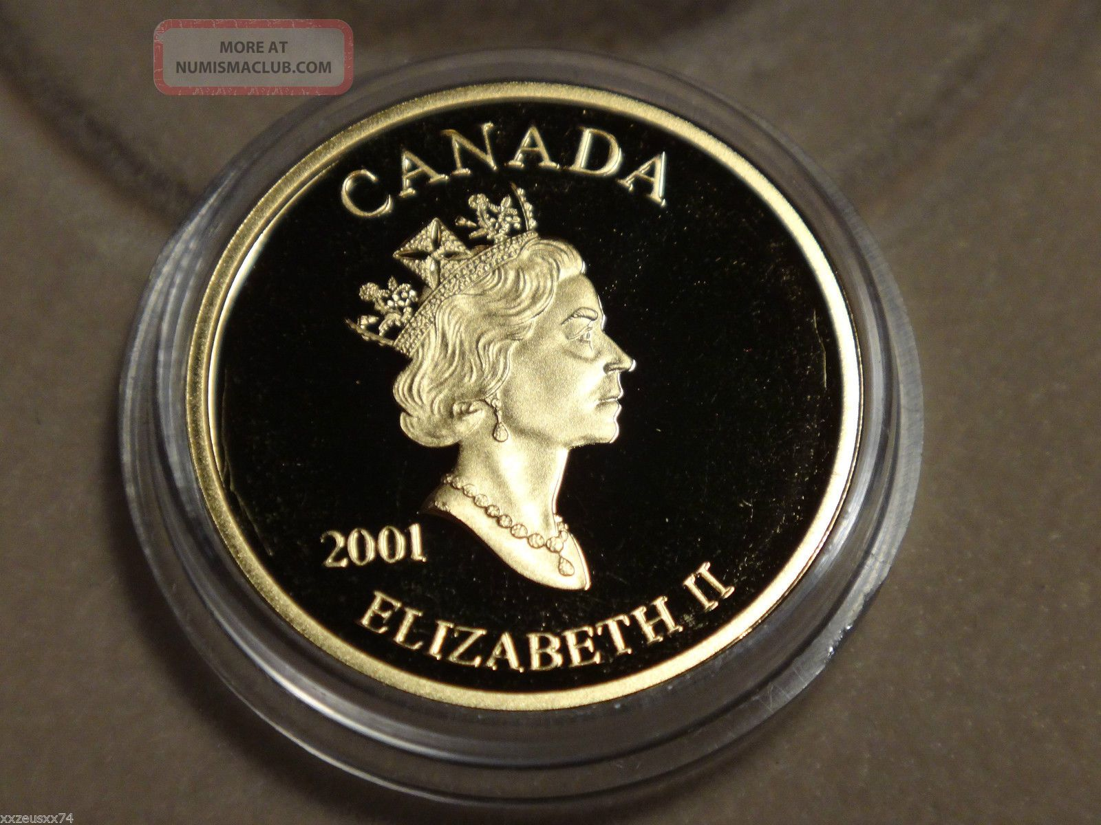 2001 Canada 3 Cent 24k Gold Plated Silver Coin Amp Stamp Set 1
