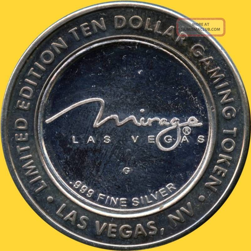 Las Vegas Quot Danny Gans Quot The Mirage 10 999 Silver Token