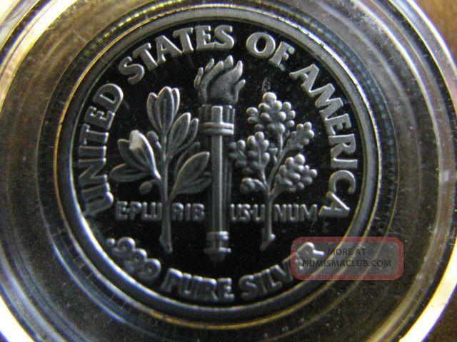 2006 Ronald Reagan Dime Size 3 1g 1 10 Oz 999 Silver