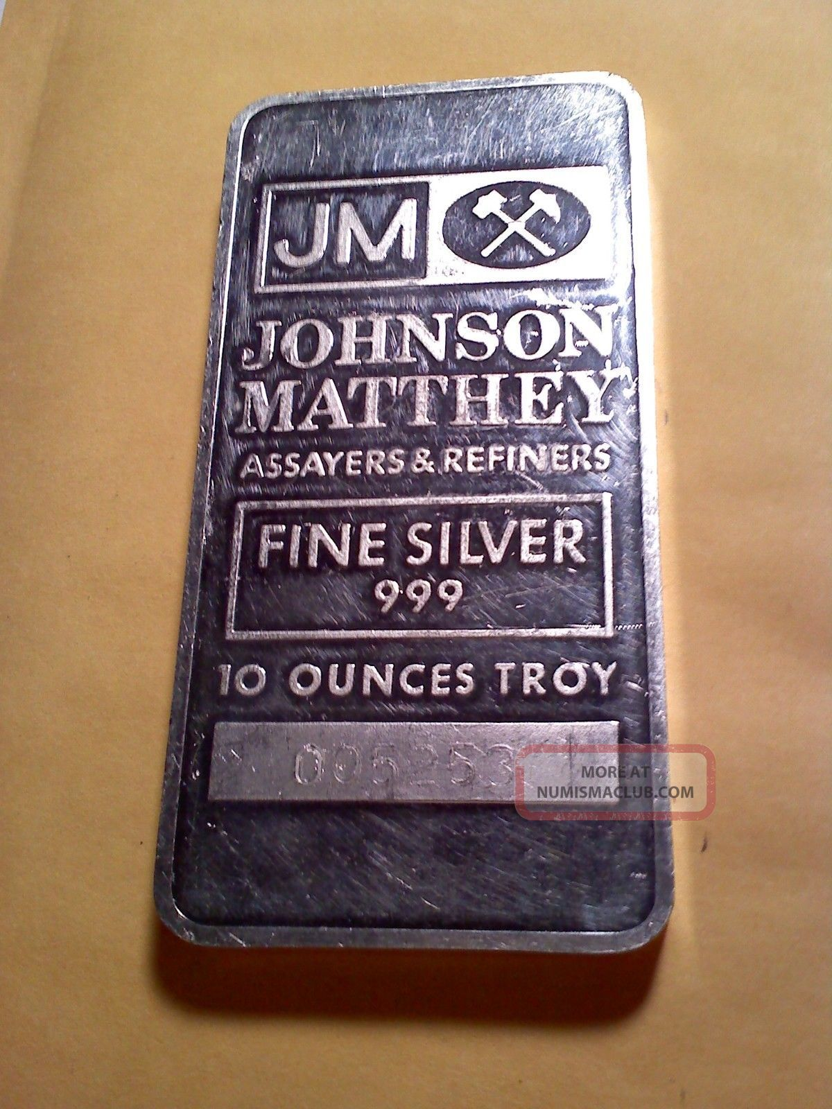 Johnson Matthey Ranchers Exploration Escalante Mine 10 Oz