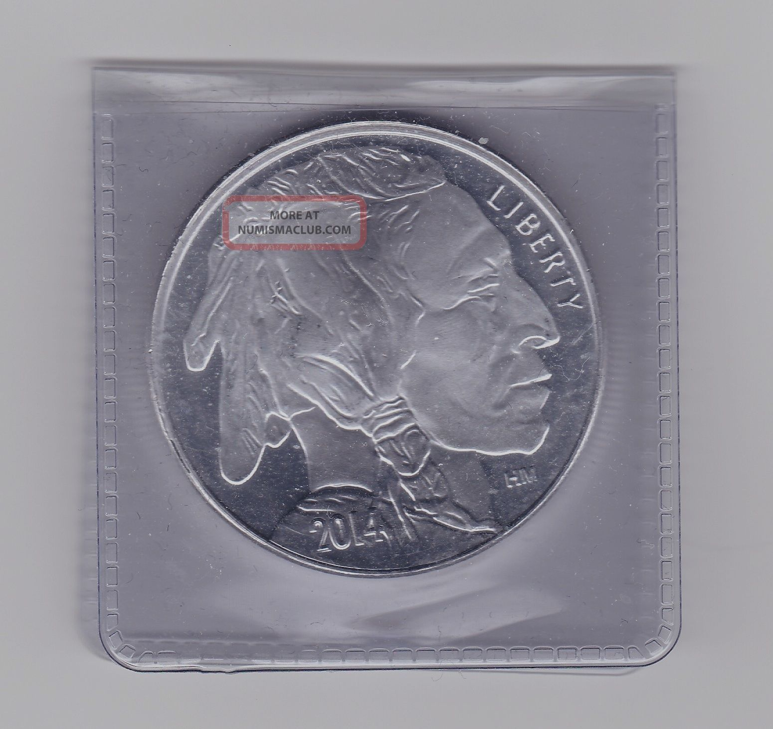 One American Indian Buffalo 1 Troy Ounce 999 Silver