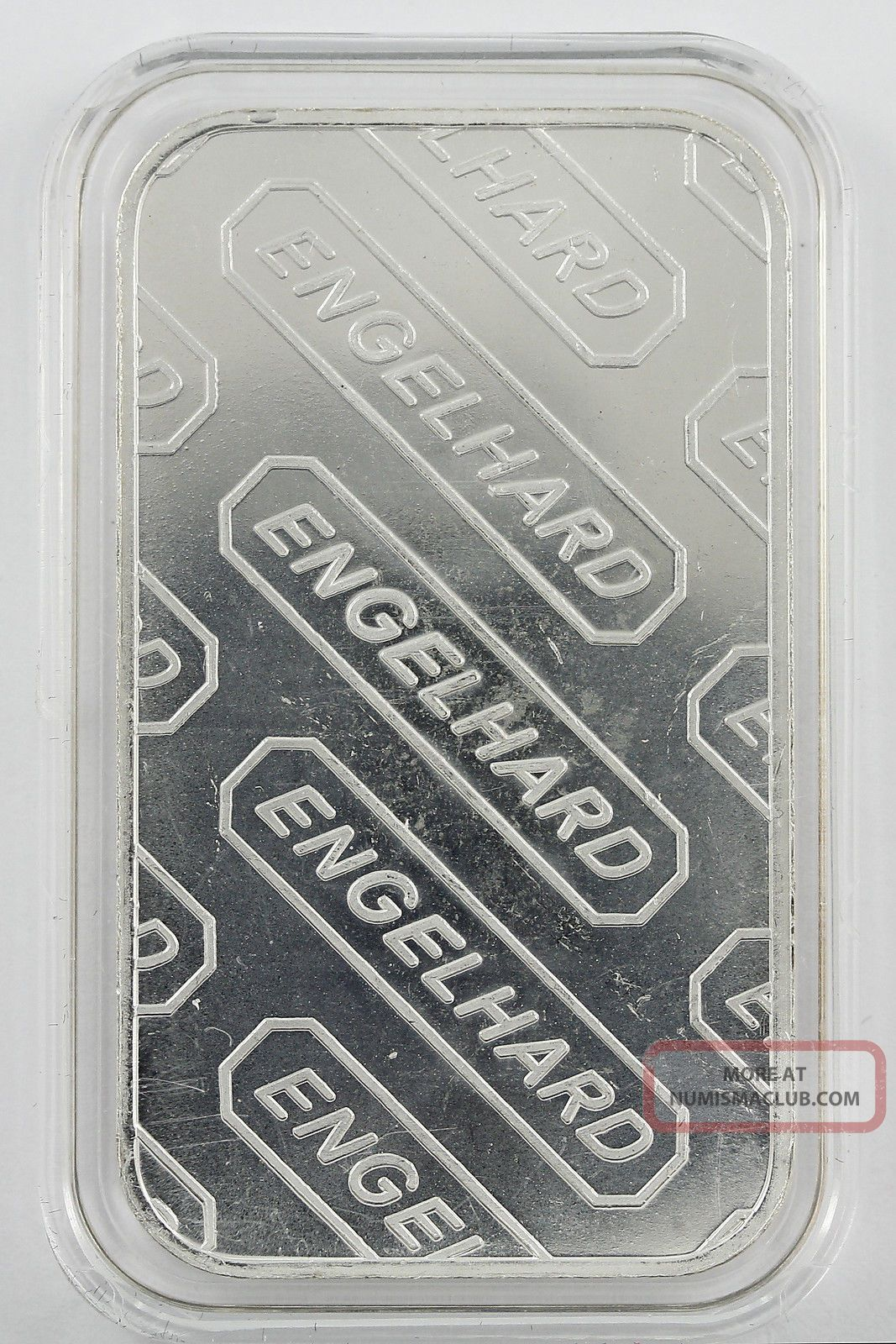 1 Oz Silver Bullion Engelhard 1 Troy Ounce 999 Fine