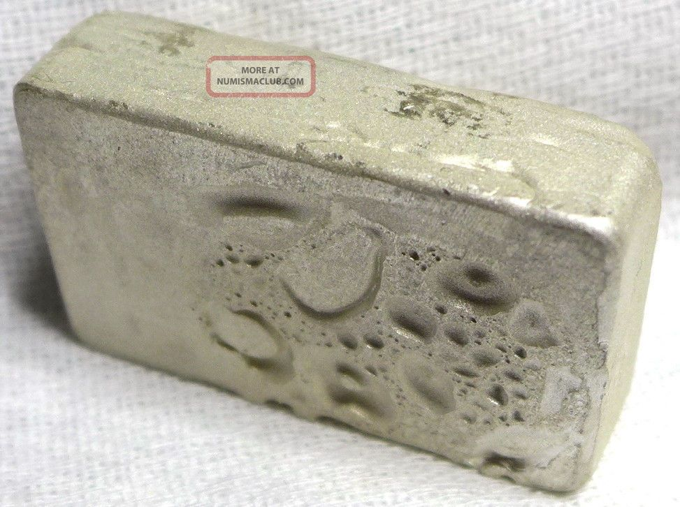 5 Oz Hand Poured Scottsdale Silver Bar Five Troy Ounce