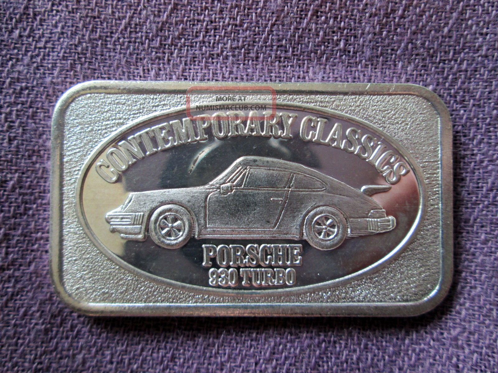 Porsche 930 Turbo Classic Cars Rare 1 Troy Oz 999 Fine