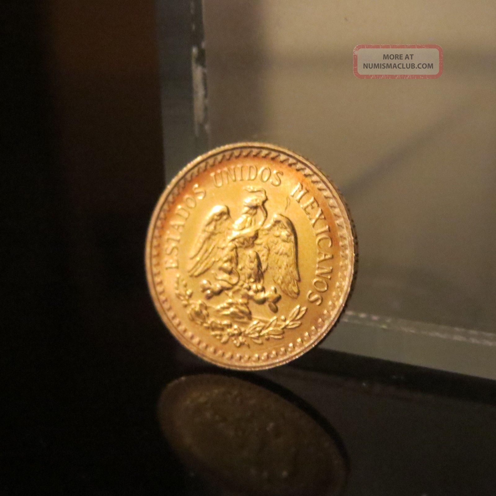 Mexico 1945 Dos Y Medio 2 5 Pesos Gold Coin