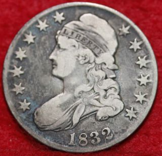 1832 Silver Bust Half Dollar S/h photo