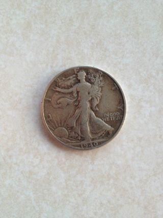 1940 Walking Liberty Half Dollar Coin photo