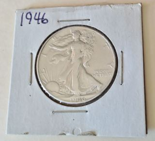 1946 Walking Liberty Half Dollar photo