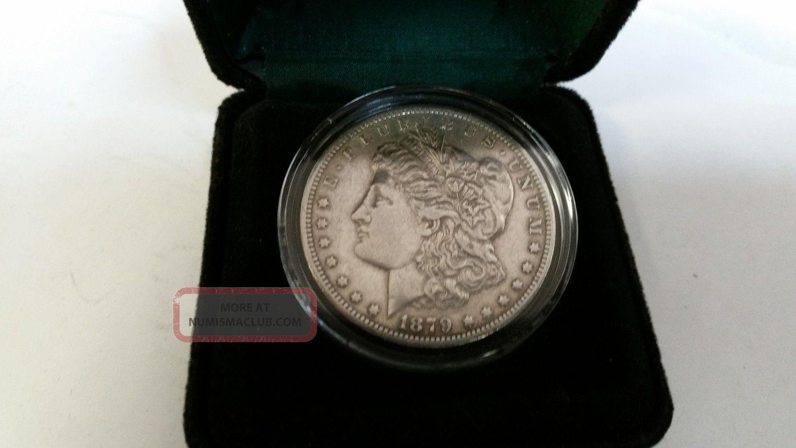 1879 Cc Morgan Silver Dollar 1 Vf Details Rare