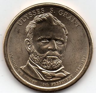 2011 - D - Ulysses S.  Grant - Presidential Coin 34 photo
