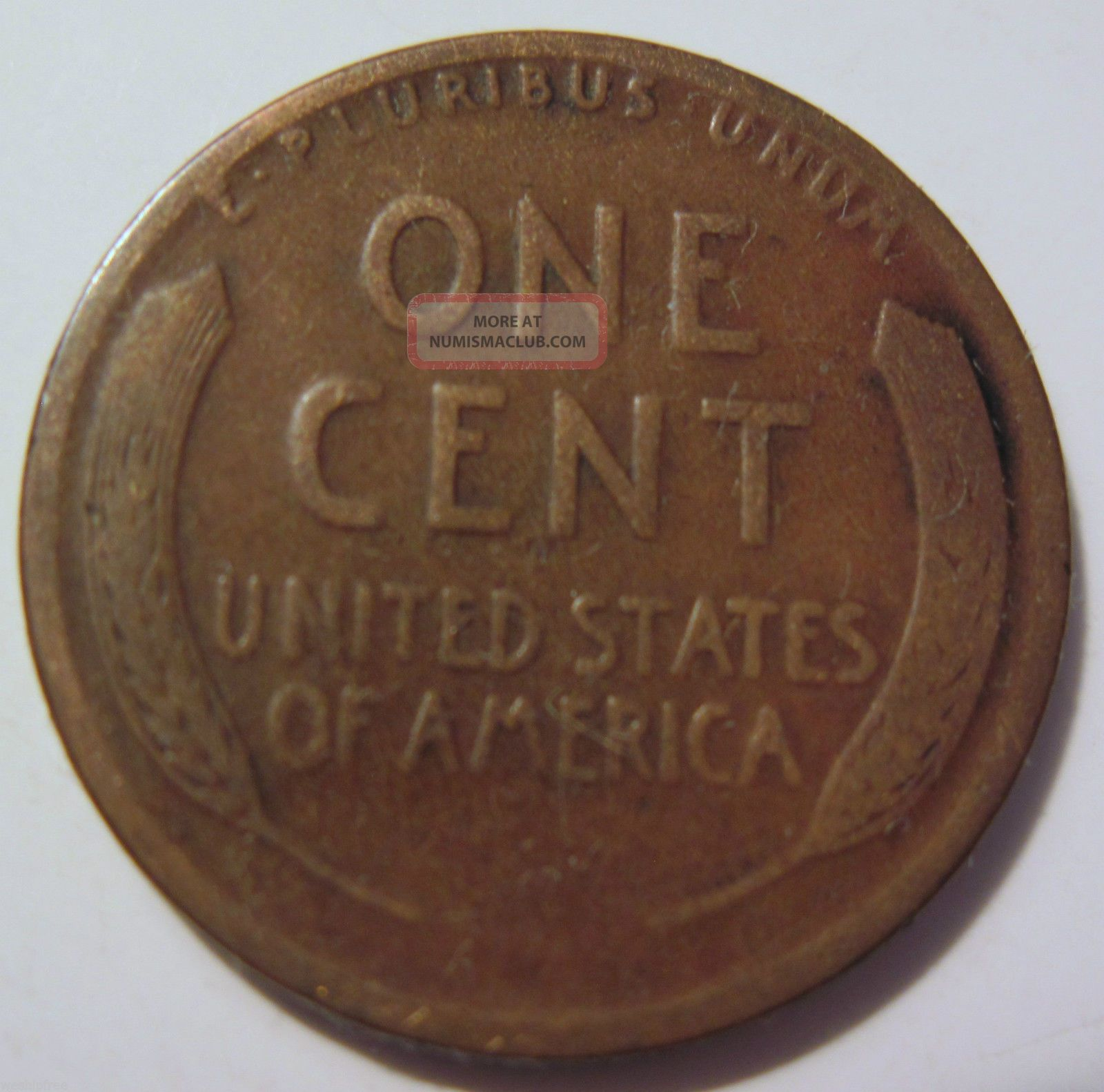 1913 S Lincoln Wheat Cent Penny Collector Coin 28m