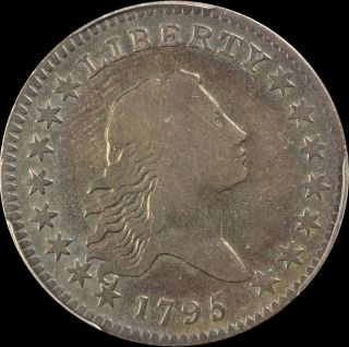 1795 Flowing Hair Half Dollar Pcgs - Fine Details - Questionable Color photo