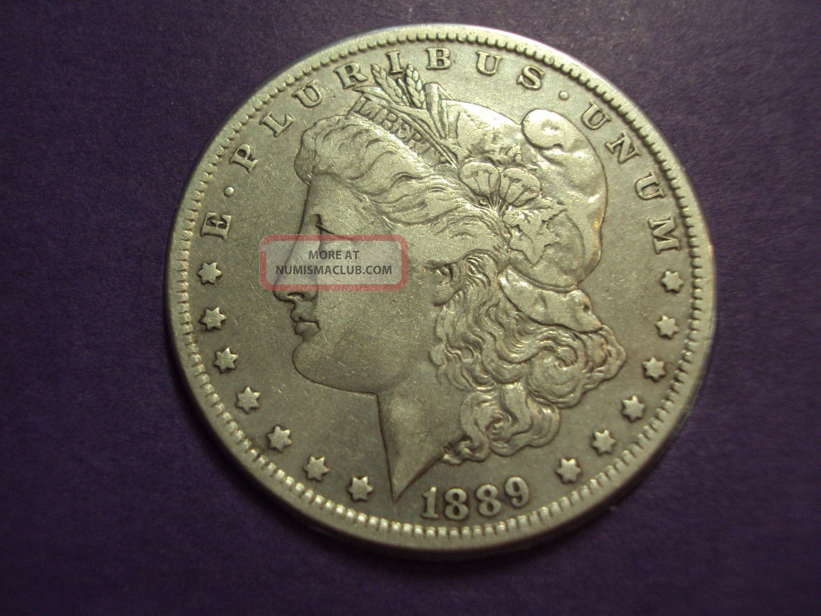 Coinhunters 1889 O Morgan Silver Dollar Vf Postal