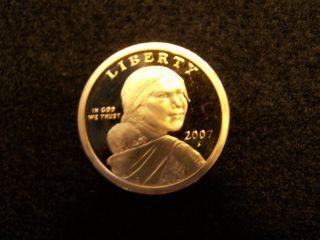 2007 S Native American Sacagawea Dollar Gem Deep Cameo Proof Us Coin photo