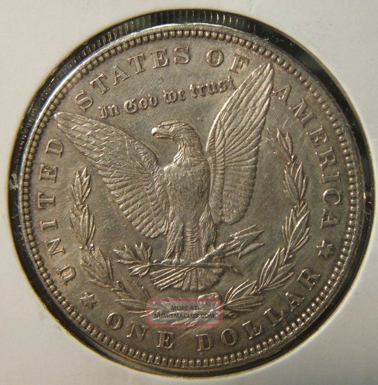 1883 Silver Morgan Dollar Au Beauty