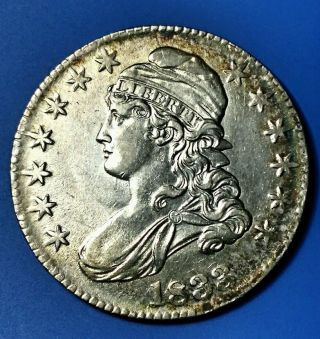 1833 50c Capped Bust Half Dollar photo