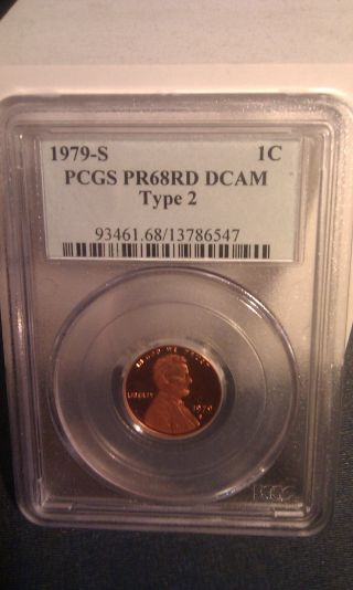 1979 - S Lincoln Type 2 Pcgs Pr68rd Dcam photo