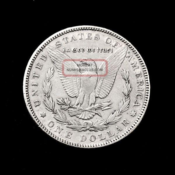 Authentic Us Morgan Silver Dollar 1891 P 1878 1921