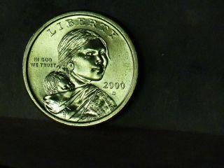 2000 - D Sac$1 Sacagawea Dollar Bu photo