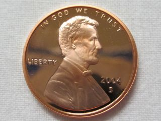 2004 S Lincoln Cent - Gem Proof Deep Cameo photo
