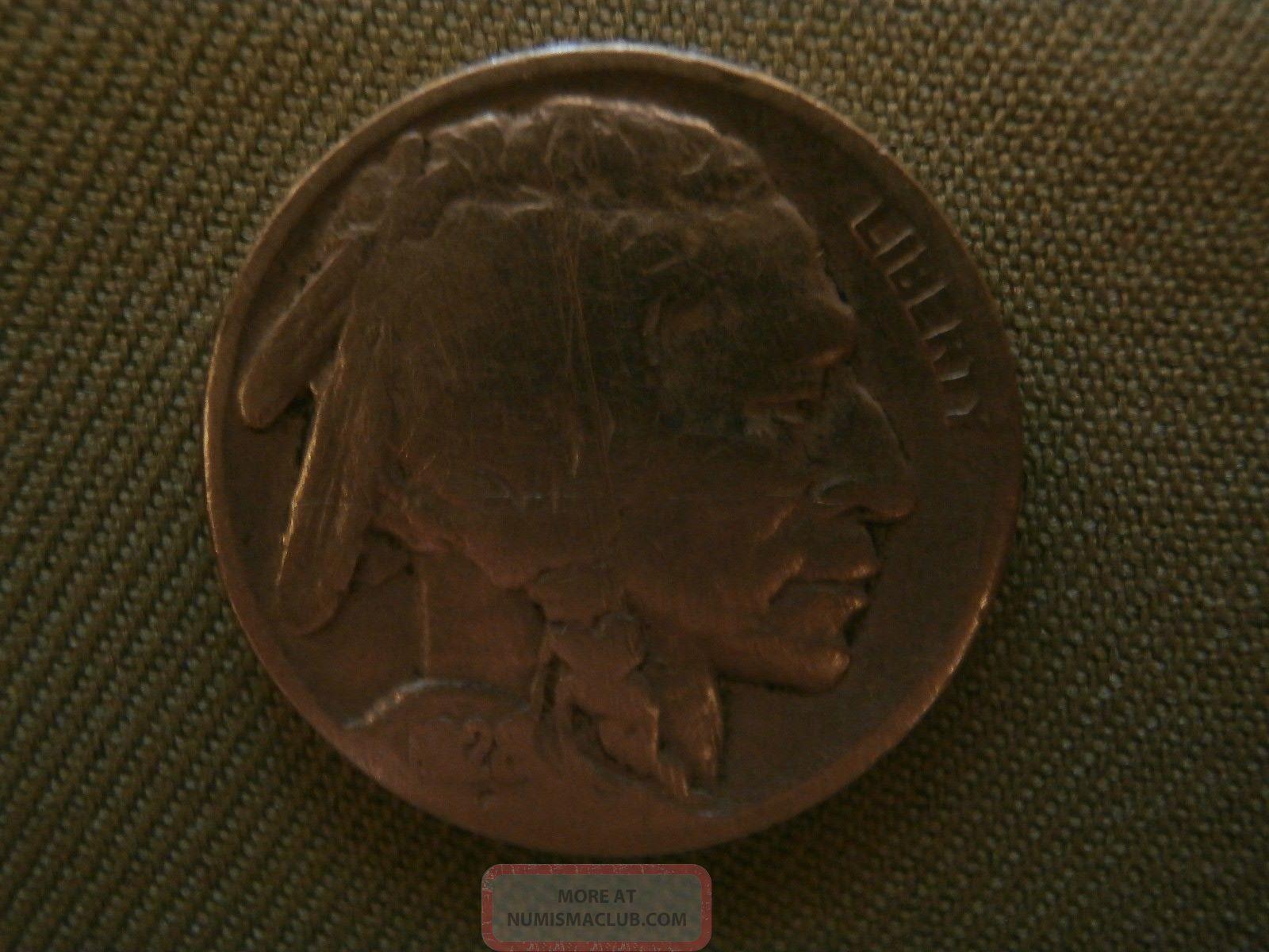 Buffalo Or Indian Head Nickel 1928