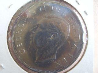 1950 S$1 Canada Dollar King George Vi Xf photo