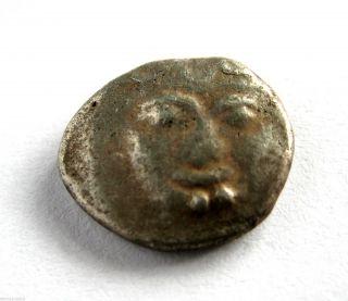480 B.  C Ancient Greece Mysia - Parion Civic Coinage Silver Hemmi - Drachma Coin photo