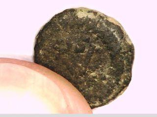 2rooks Byzantine Empire Unknown Emperor To Me Nummus Nummia Coin Monogram photo