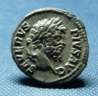 Septimius Severus Silver Denarius,  Victory Reverse,  - See Photos photo
