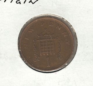 Great Britain Penny,  1973 photo