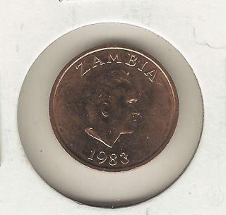 Zambia Ngwee,  1983 photo