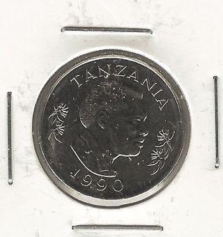 Tanzania 50 Senti,  1990 photo