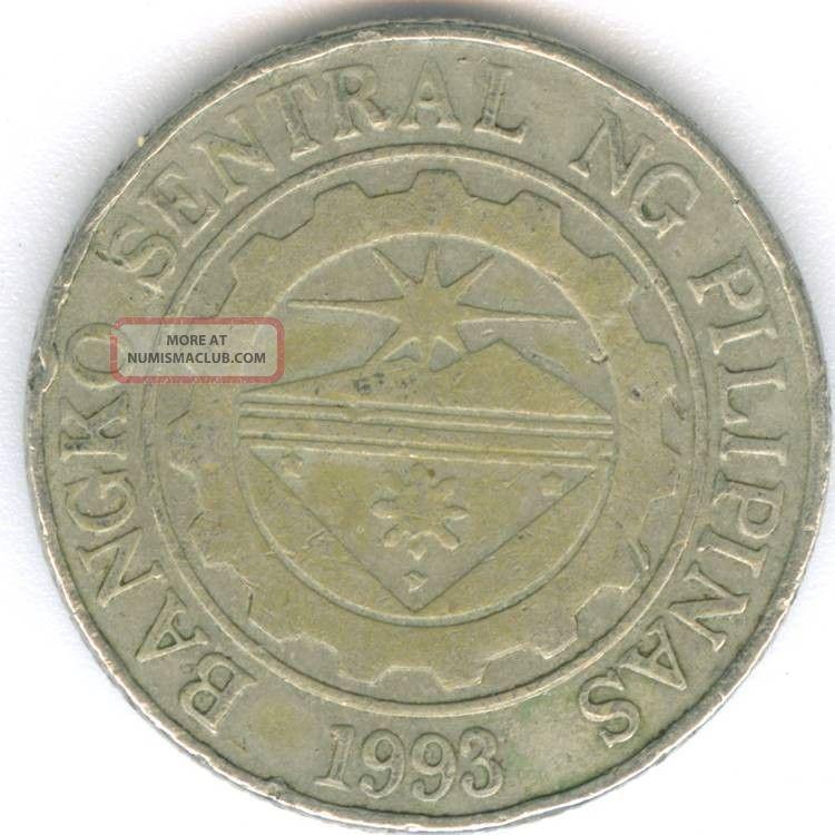 Philippines Republika Ng Pilipinas 1996 Filipino Coin 1 Piso