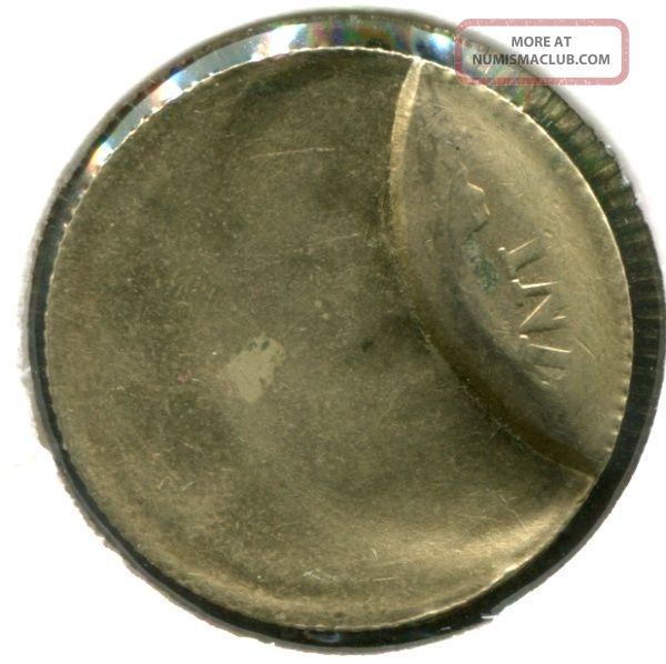 India Rs.  5 Coin Die Cud (extra Metal) & One Side Blank Planchet Error,  Top Grade Coins: World photo