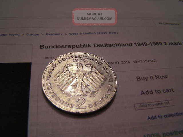 bundesrepublik deutschland 1969 10 pfennig war