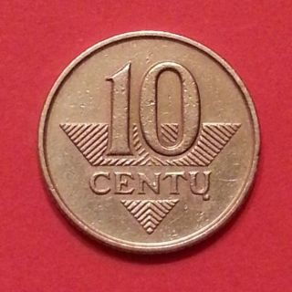 10 Centu 1997 Years Lithuania Copper Zinc Nickel (1 - 1 - 4) photo