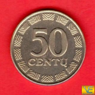 50 Centu 2000 Years Lithuania Copper Zinc Nickel photo