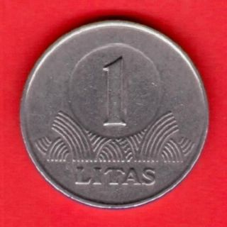 1 Litas 1998 Years Lithuania Copper - Nickel photo