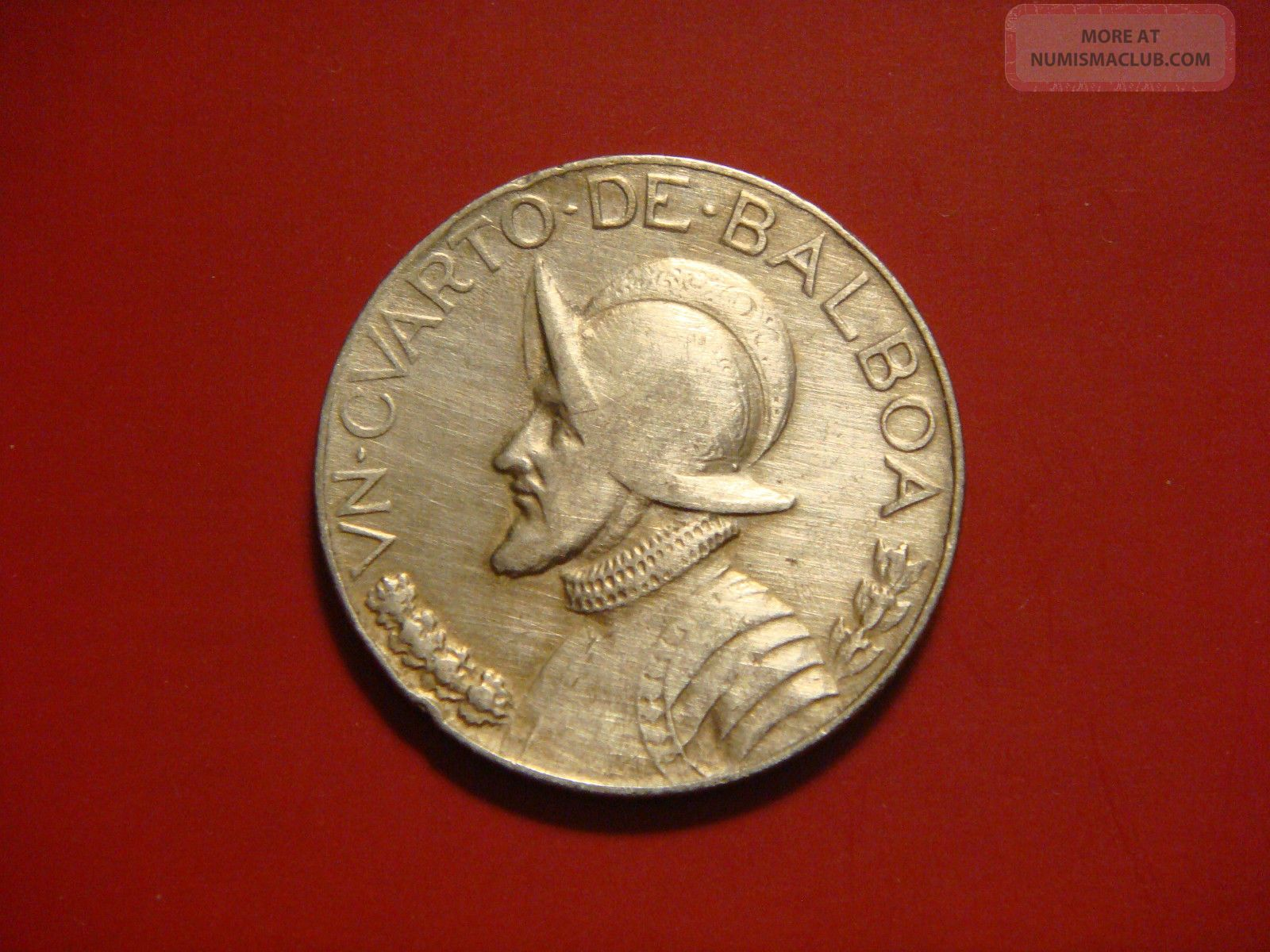 Panama 1 4 Balboa 1966 Coin
