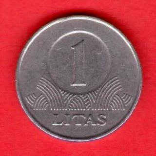 1 Litas 1999 Years Lithuania Copper - Nickel photo