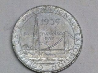 1939 San Francisco Expo.  Union Pacific Rr Coin photo