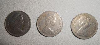 10 Pence 1974 1975 1977 photo