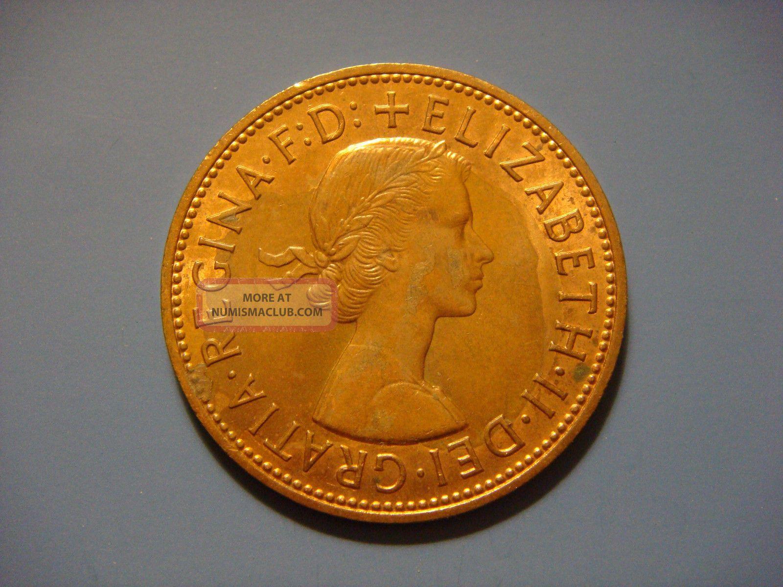 Great Britain 1 One Penny, 1967, Britannia