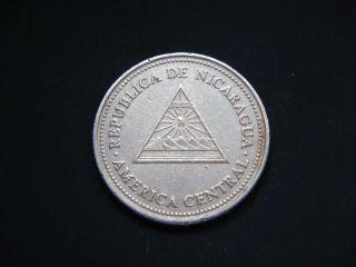 Nicaragua 50 Centavos,  1997 Coin photo