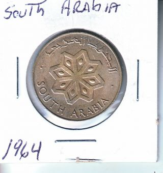 South Arabia 1964 50 Fils L18 (now Called Yemen) photo