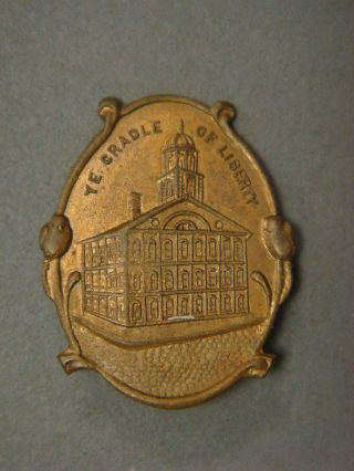 Pin - Ye Cradle Of Liberty (independence Hall Pictured) photo